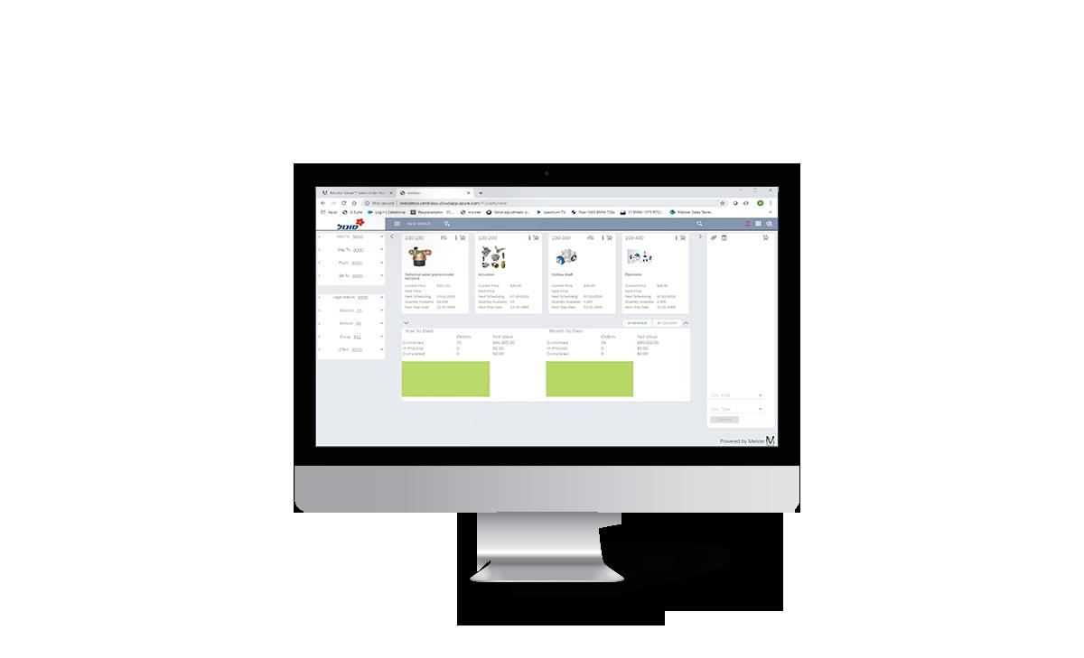 Meister Smart™ Sales Order Portal - Meister Applications